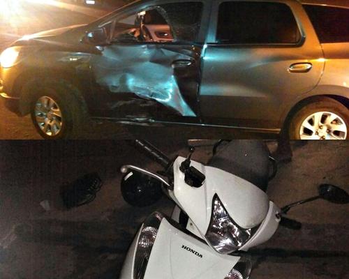 Veículos envolvidos no acidente (Fotos: Paulo Samuel)