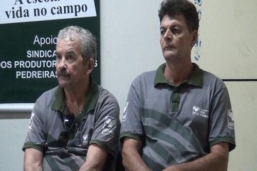 Leônidas Castro (Sec. de Agricultura/Pedreiras) e Antônio Carlos (Sec. de Agricultura de Trizidela do Vale)/Foto: ASCOM/Trizidela do Vale