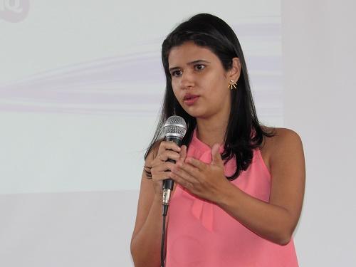 Drª. Marília Vasconcelos - Delegada da Mulher - Pedreiras/Foto: Sandro Vagner