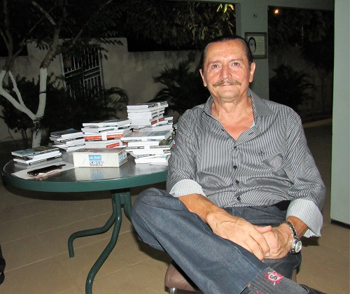 Filenon Krause - Poeta e escritor/Foto: Sandro Vagner