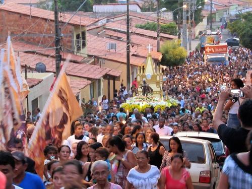 Procissão de São Benedito/Pedreiras-MA/Foto: Sandro Vagner