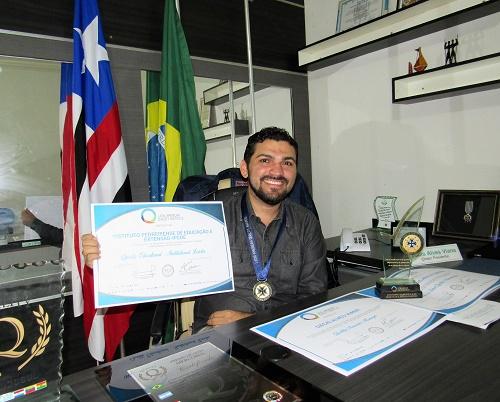 Dácio Alves Viana - Diretor-presidente do IPEDE/Foto: Sandro Vagner