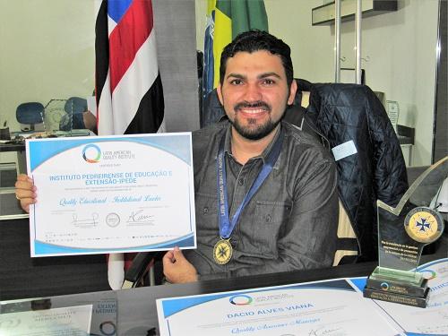 Dácio Alves - Diretor-presidente do IPEDE/Foto: Sandro Vagner