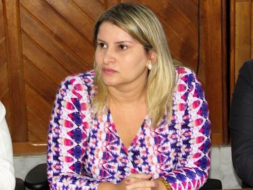 Drª Larissa Rodrigues Tupinambá Castro - Juíza titular da 3ª Vara da Comarca de Pedreiras/ Foto: Sandro Vagner