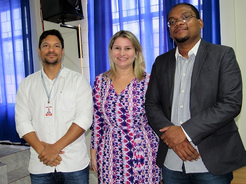 Dr. Artur, Drª Larissa Tupinambá e Dr. Marco Adriano/Foto: Sandro Vagner